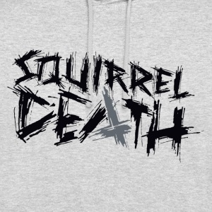 SQUIRREL DEATH - Logo positively - Unisex Hoodie