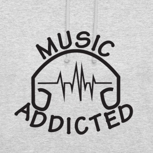 MUSIC_ADDICTED-2 - Sweat-shirt à capuche unisexe