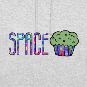 Space cake - Sweat-shirt à capuche unisexe