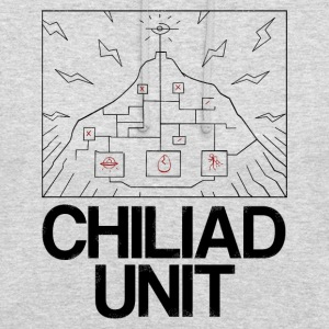 Unité Chiliad - Sweat-shirt à capuche unisexe