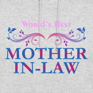 World Best Mother in law - Unisex Hoodie