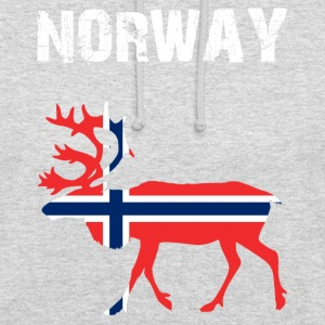 Nation-Design Norway Reindeer - Unisex Hoodie
