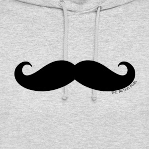 Manly Man Moustache - Unisex Hoodie
