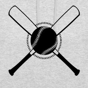 Baseball Crossed - Sweat-shirt à capuche unisexe