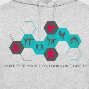 Fighting silhouettes - Unisex Hoodie