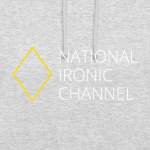 Ironic National Channel - Long Sleeve T-Shirt - Unisex Hoodie
