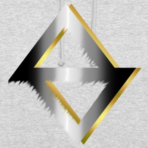 PKC-> Triangel in Silver and Gold - Unisex Hoodie
