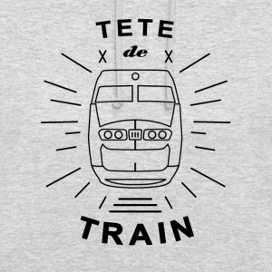 Tete_De_Train_Black_Aubstd - Luvtröja unisex