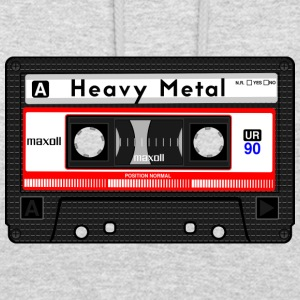 CASSETTE HEAVY METAL - Sweat-shirt à capuche unisexe