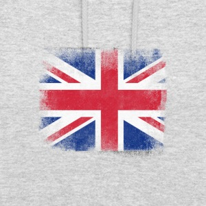 United Kingdom Flag Proud British Vintage Distress - Luvtröja unisex