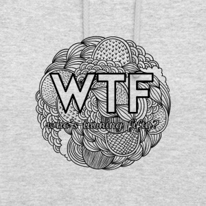 50th birthday: WTF - who's turning fifty? - Unisex Hoodie