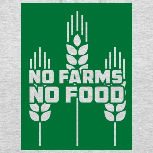 Farmer / Farmer / Farmer: No Farms, No Food - Unisex Hoodie
