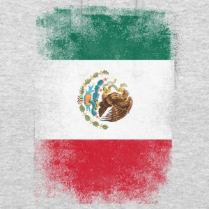 Mexico Flag Proud mexicanske Vintage Distressed - Hættetrøje unisex