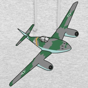 Me262 Fighter Jet - Sweat-shirt à capuche unisexe