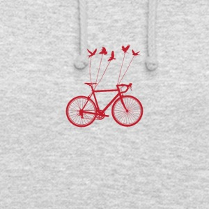 OISEAUX BIKE - Sweat-shirt à capuche unisexe