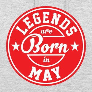 Legends may born birthday gift birth - Unisex Hoodie
