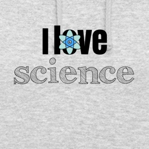 J'adore la science - Sweat-shirt à capuche unisexe