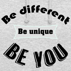 T - Be You - Unisex-hettegenser