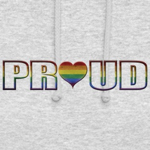 proud to be gay - Unisex Hoodie