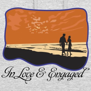 Engaged In Love - Unisex Hoodie