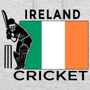Irland Cricket Player Flag - Luvtröja unisex