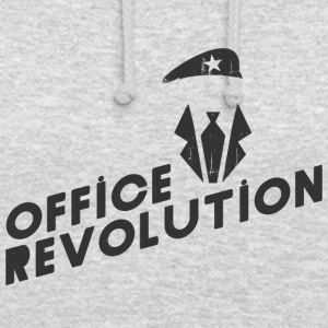 révolution bureau - Sweat-shirt à capuche unisexe