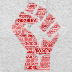 anarchie word cloud - Hoodie unisex