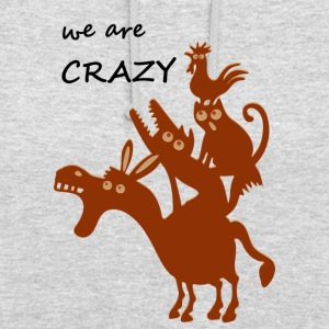 The crazy Bremen city musicians - Unisex Hoodie