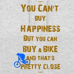 Happiness for bikers - Unisex Hoodie