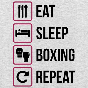 Eat Sleep Boxing Repeat - Luvtröja unisex