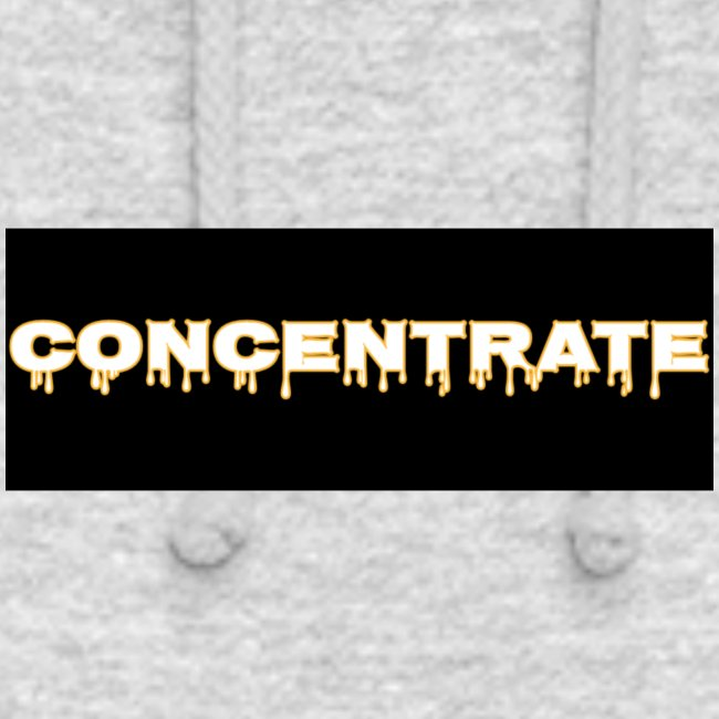 Concentrate on black