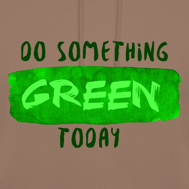 So Something Green Today