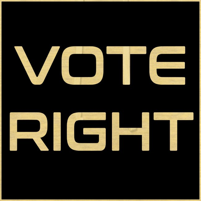 vote right