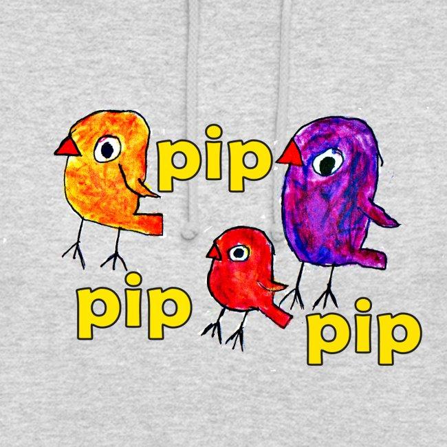 3er original pip pip pip gelb