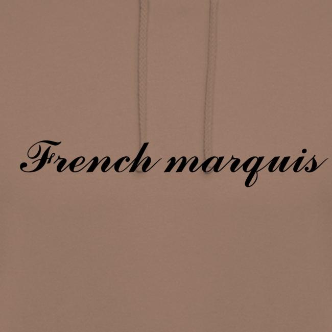 Sweat à capuche French marquis n°1