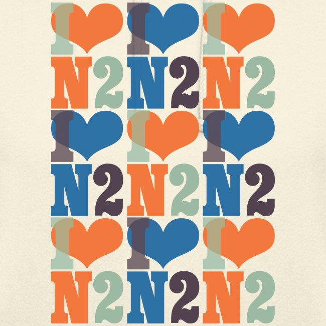 East Finchley I Love N2 pattern