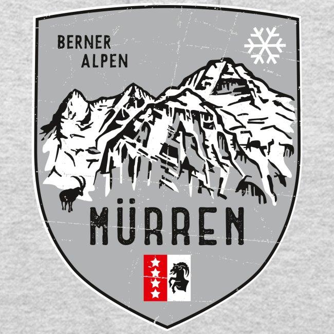 Eiger, Mönch und Jungfrau mit Mürren Flagge
