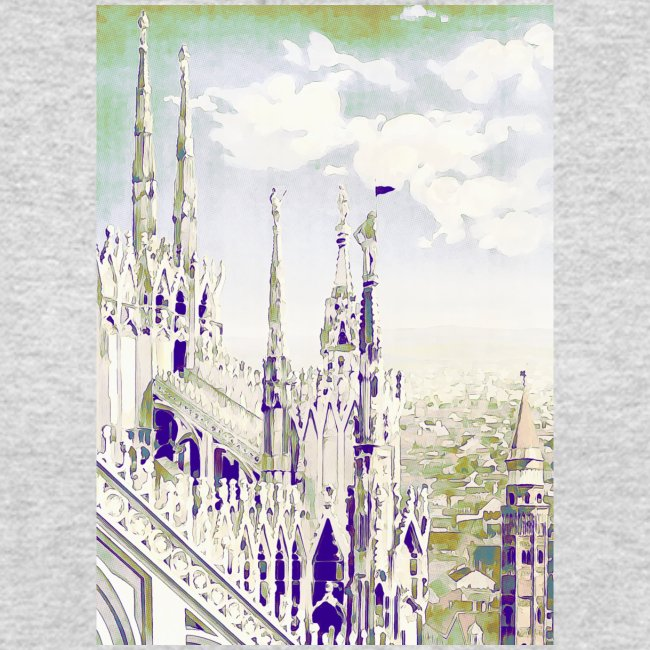 Mailand Vintage Reise Poster
