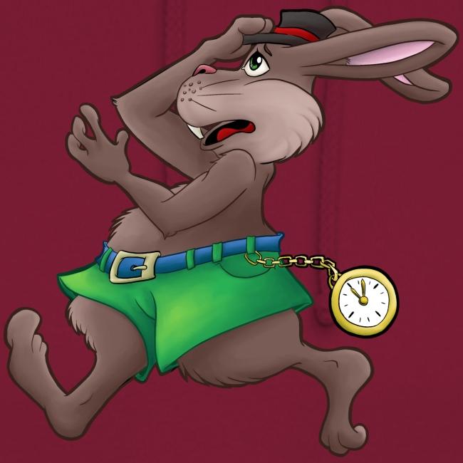Zu Spät! - Hase mit Uhr