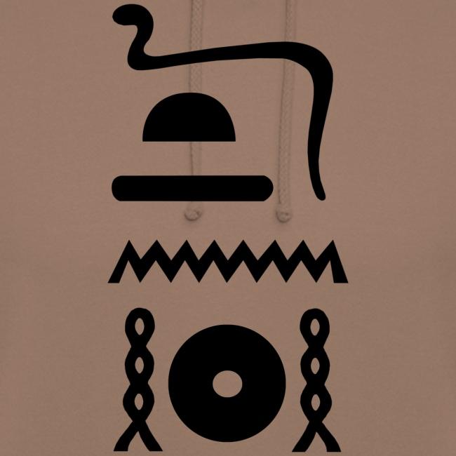 Hieroglyphen: djet-neheh (ewiglich, in Ewigkeit)