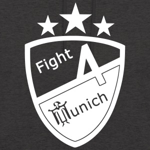 Fight 4 Munich - Logo - Sweat-shirt à capuche unisexe