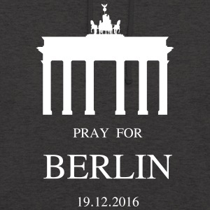BERLIN pleure - Sweat-shirt à capuche unisexe