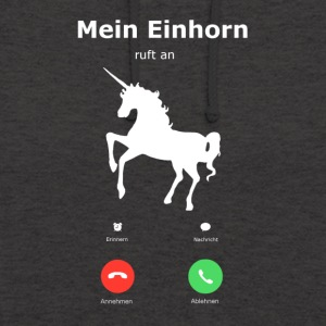 My Unicorn is calling - Unisex Hoodie