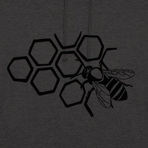 abeille - Sweat-shirt à capuche unisexe