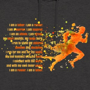 I Am A Father - I Am A Runner - Unisex Hoodie