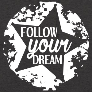 FOLLOW_YOUR_DEAM-white - Luvtröja unisex