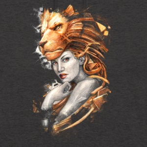 lion - Sweat-shirt à capuche unisexe