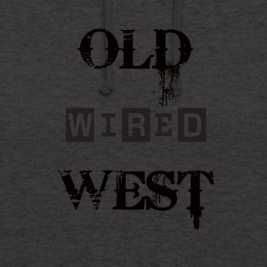 Old wired west Black - Unisex Hoodie