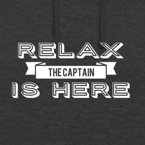 Relax capitaine design - Sweat-shirt à capuche unisexe