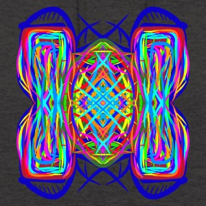 turtle tortoise trippy abstract psychedelic - Unisex Hoodie